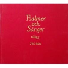 Psalmer och sånger - tillägg 785 - 868