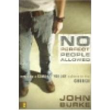 Burke, John : No perfect people allowed