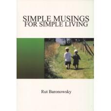 Baronowsky, Rut: Simple musings for simple living