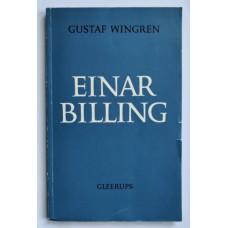 Wingren, Gustaf: Einar Billing