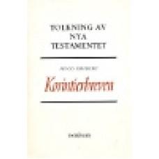 Odeberg, Hugo : Korintierbreven