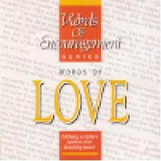 Tarrant, Rick : Words of encouragement - Love