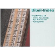 : Bibel-index (inkl apokryfer) - svart